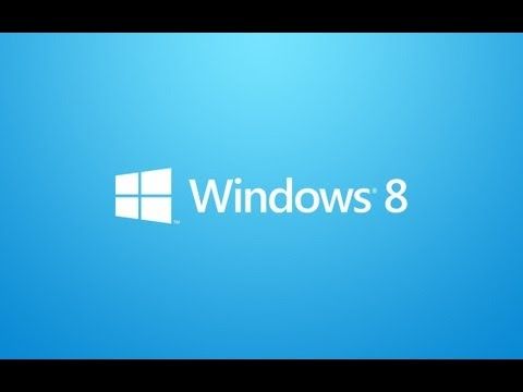 Windows 8 Tutorial - Part 1