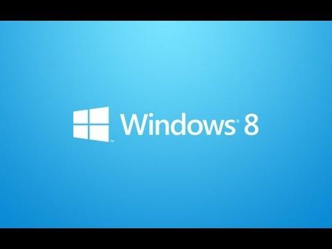 Windows 8 Tutorial - Part 1