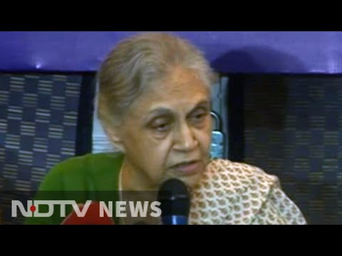 'Am UP's bahu,' says Sheila Dikshit about running for Chief Minister