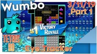 Tetris 99 - Flawless Stream 15 Win Streak - Wumbo 875+ Wins