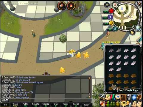 Runescape Cooking and firemaking Training 2012 . Up to 900k/h – u3b