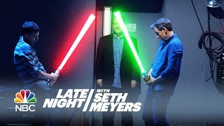 Office Lightsaber - Late Night with Seth Meyers