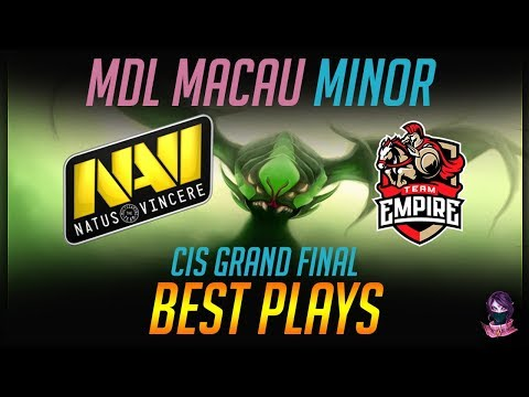 MDL Macau Minor NaVi vs Empire CIS Grand Final BEST PLAYS Highlights Dota 2 by Time 2 Dota #dota2