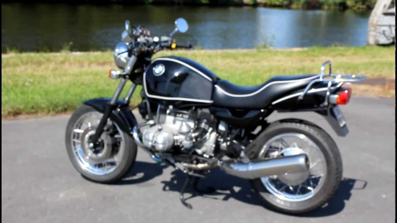 bmw r100r mystic classic youtube
