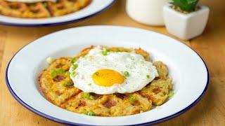 Hash-Brown Waffles • Tasty