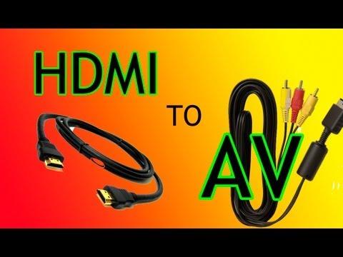 [TUTORIAL] Como pasar PS3 de HDMI a AV