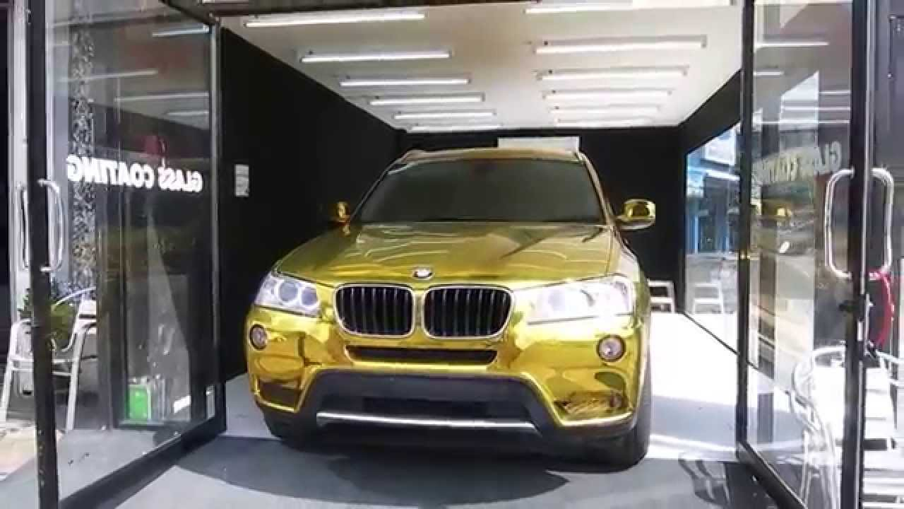 Gold Chrome Wrap Cost Gold Chrome Bmw x3 Tony Wrap