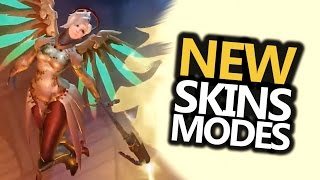 NEW! Leaked CTF Mode, Skins - Year of the Rooster (Overwatch)