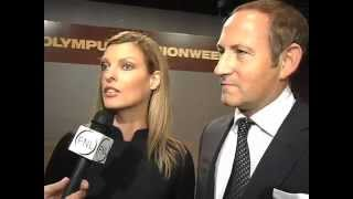 Linda Evangelista Interview at the NY Olympus Fashion Week 2006 at Fashion News Live