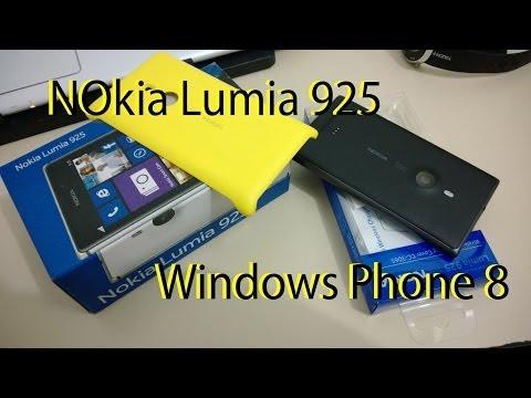 Nokia Lumia 925 Review Português