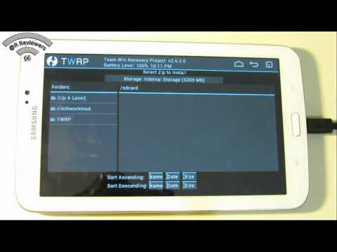 How to root your Samsung Galaxy Tab 3 with no pre rooted firmware (TWRP)