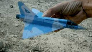 Mirage2000 Paper Airplane