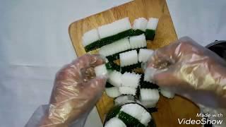 Cách làm thạch lá dứa, cùi dừa hai lớp đơn giản mà ngon tuyệt