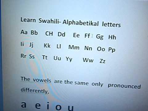 Learn Swahili Language (Kiswahili) | MasterAnyLanguage.com