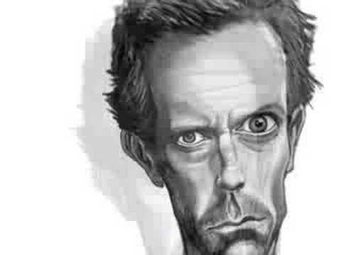 Dr. HOUSE (Caricature) - SpeedPainting by Nico Di Mattia