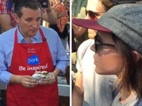 Ellen Page Confronts Ted Cruz On LGBTQ Rights