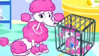 Fun Puppy Care Kids Games - Cute Animal Rescue And Care - Fun Animation Games For Children