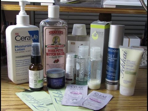 Multiple product reviews - hair care and anti-aging products