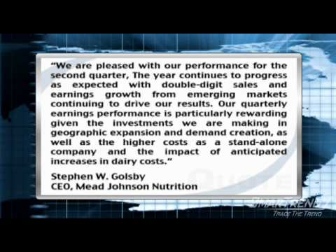 Earnings Report: Mead Johnson Top Line Up 6% In Q2, Growth Driven By Emerging Markets (MJN)