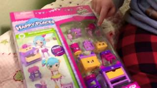 OPENING SHOPKINS HAPPY PLACES BOX AND BLIND BAGS