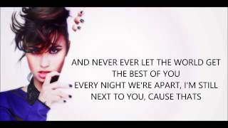 MADE IN THE USA - DEMI LOVATO (LYRICS)