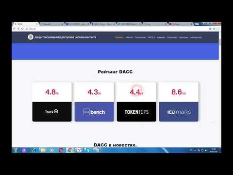 DACC - платформа цифрового контента и медиаиндустрии