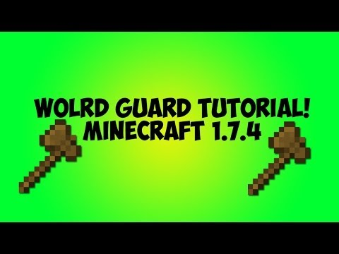 World Guard Tutorial Minecraft 1.7