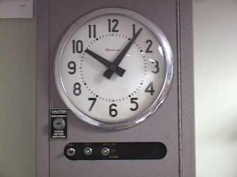 Simplex Time Clock Control Unit Bell Control System