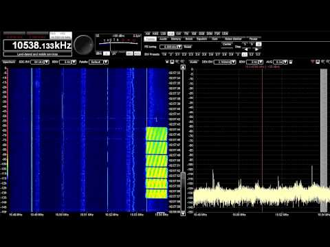 HF Sounder/ Radar Zoo (18 March 2013, ~10 MHz)