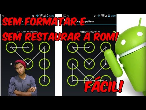 Como Remover Senha Do Bloqueio Do Android Sem Formatar 2016