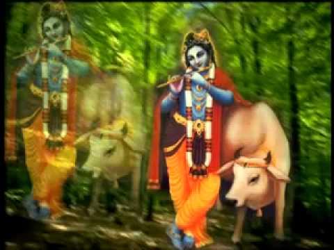 Choti Choti Gaiya Chote Chote Gwal Shri Krishna Bhajan) (360p...