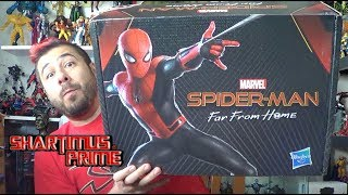 Marvel's Spider-Man Far From Home Unboxing Hasbro Toys Promo Package