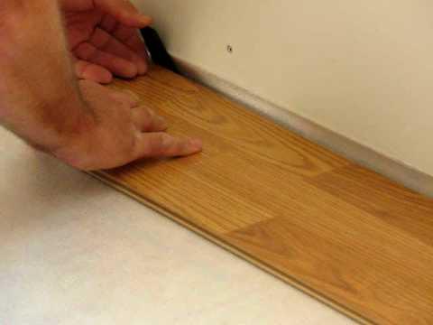 IKEA Tundra Flooring Installation