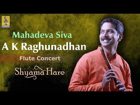 Mahadeva Siva - A Flute Concert By A.K.Raghunadhan