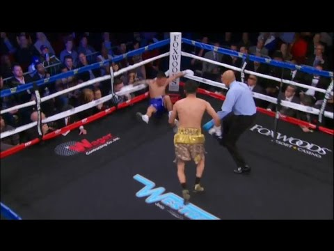 Adam Lopez Drops Pablo Cruz Twice in the 2nd Round - SHOWTIME Boxing