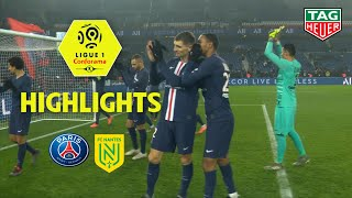 Paris Saint-Germain - FC Nantes ( 2-0 ) - Highlights - (PARIS - FCN) / 2019-20
