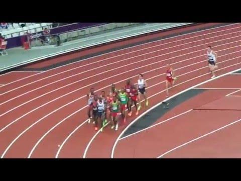 2012 London Olympics 10k, Mo Farah wins! Last 3 laps