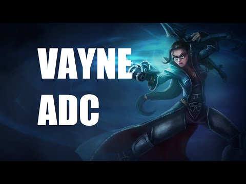 League of Legends - Vayne ADC - Full Game Commentary - ALS Ice Bucket Challenge