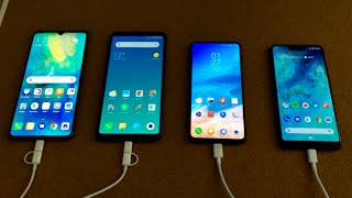 Mate 20 X vs Mi Max 3 vs Mi Mix 3 vs Pixel 3 XL - EPIC Battery Drain Test!
