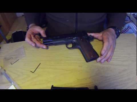 sig sauer 1911-22 disassembly