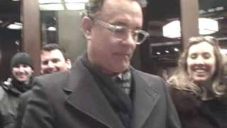 Tom Hanks - Signing Autographs at The Great Buck Howard Screening in NYC