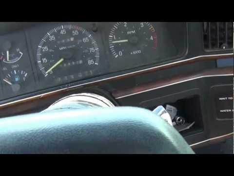 1987 Ford F-250 4X4 XLT Lariat 6.9 IDI diesel Start and Drive
