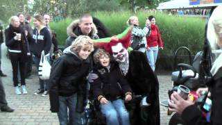 Walibi World Halloween Fright Nights 2010 Eddie de Clown, Beetlejuice en Frank