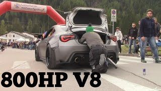 800HP LS3 V8 BRZ DRAGS A MAN  WITH HIS KNEES!! | INSANE!!!
