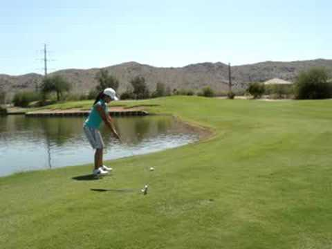 biancas 3rd hit on hole # 15 par 4 at the Legacy Golf Resort