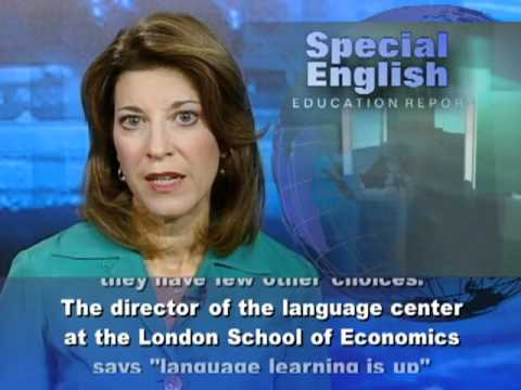 Economy Pushes Spanish to Learn English