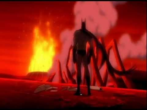 Darkseid Versus Batman