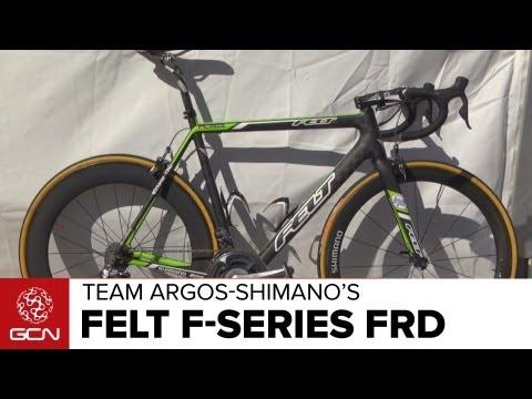 Marcel Kittel's Felt F-Series FRD Argos-Shimano Team Bike