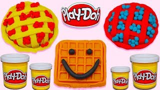Super Simple Way to Make Beautiful Play Doh Pie for Kids