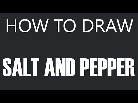 Salt And Pepper Shakers Drawing How to Draw Salt And Pepper